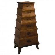 Dulap cu sase sertare, din lemn