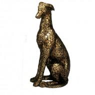 Obiect decorativ din metal, 107 cm (h)