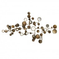 Panou decorativ din metal, 74 cm (h)