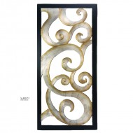 Panou decorativ din lemn, 218 cm (h)