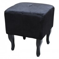 Taburet Baroc, black