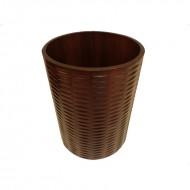 Cos de gunoi din lemn, 30 cm (H)