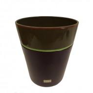 Cos de gunoi din ceramica, 30 cm (H)