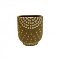 Pahar din ceramica (tribal rhytmes)