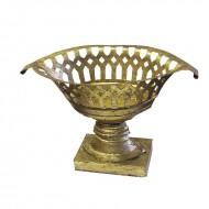 Fructiera din metal, 30 cm (auriu)