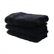 Prosop bumbac 50*100 cm, culoare negru