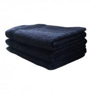 Prosop bumbac 100*150 cm, culoare negru
