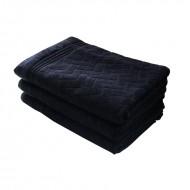 Prosop bumbac 70*140 cm, culoare negru