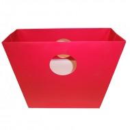 Punga rosie, 30.5*30.5*10 cm (h)