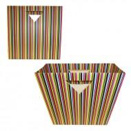 Punga stripes, 37.5*13*37.5 cm (h)