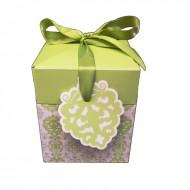 Cutie verde, 12.5*10.5 cm (h)