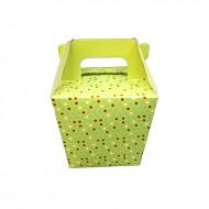 Cutie verde, 5.5*7.5 cm (h)