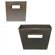 Punga argintie, 14.5*4.5*14.5 cm (h)
