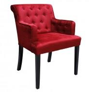 Scaun Laures (armchair), red