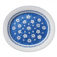 Platou 42 cm, Farmhouse Touch Blueflowers