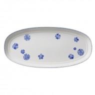 Platou 48 cm, Farmhouse Touch Blueflowers Serving & Baking