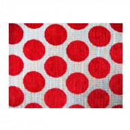 Material textil, brilliant red