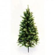 Brad verde cu 321 tips si stand metalic (inaltime brad 150 cm)