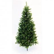 Brad verde cu 800 tips si stand metalic inclus (inaltime brad 180 cm)