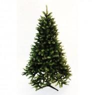 Brad verde cu 971 tips si stand metalic inclus (180 cm)