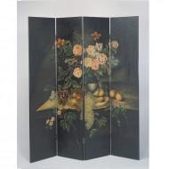 Paravan cu motive florale, Venice 214 cm (h)
